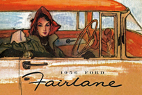 1956 Ford Fairlane Brochure