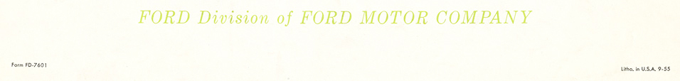 Ford Division of Ford Motor Company